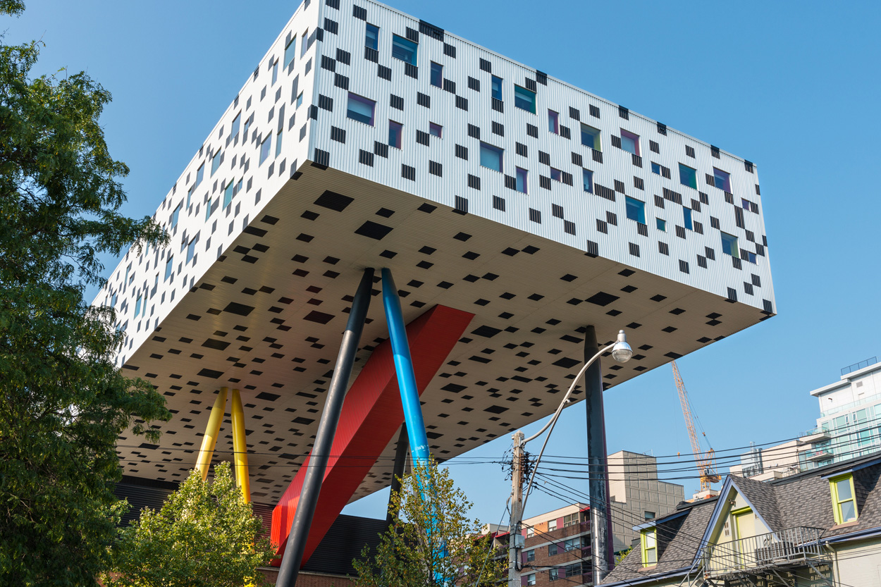 Sharp Centre for Design at the Ontario College of Art and Design (OCAD)Toronto Harbour Front